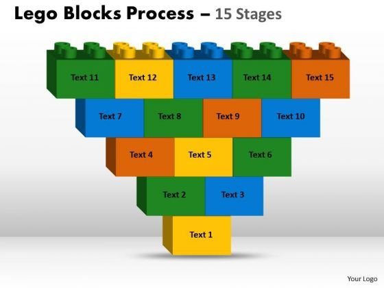 Business Framework Model Lego Blocks 15 Stages Strategic Management