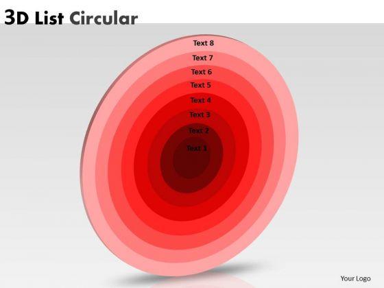 Business Framework Model List Circular Diagram Strategic Management
