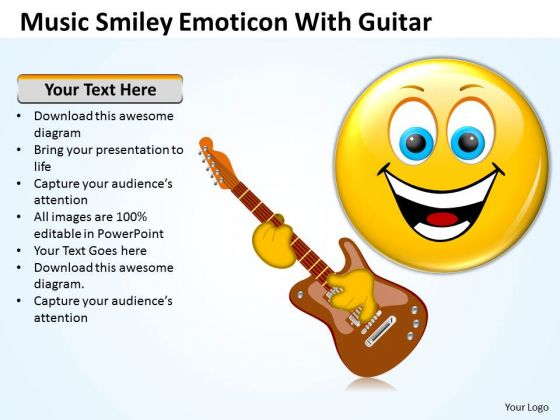 business_framework_model_music_smiley_emoticon_with_guitar_mba_models_and_frameworks_1