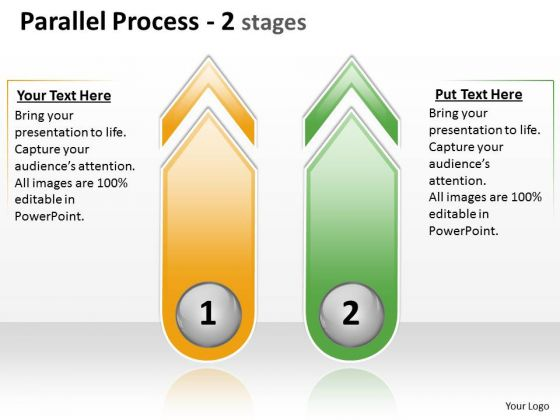 Business Framework Model Parallel Process 2 Stages 2