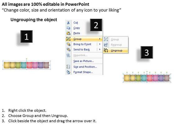 business_framework_model_puzzle_linear_flow_process_8_stages_sales_diagram_2