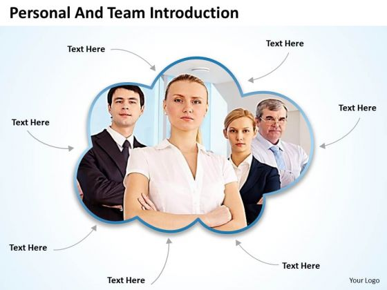 Business Framework Model See Team Introduction Sales Diagram