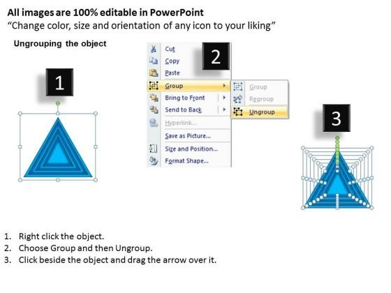 business_framework_model_stack_process_blue_color_marketing_diagram_2
