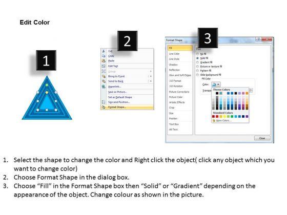 business_framework_model_stack_process_blue_color_marketing_diagram_3
