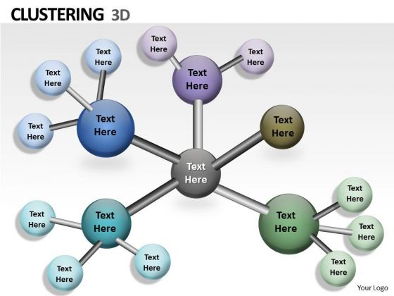 Consulting Diagram 3d Clustering Ppt Layout Mba Models And Frameworks