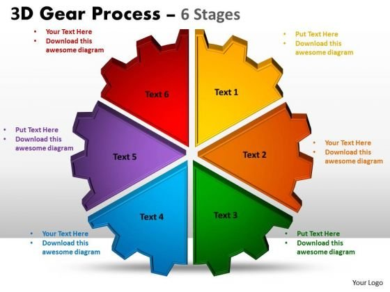 Consulting Diagram 3d Stages Style Business Diagram