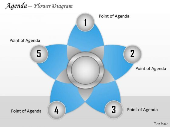 Consulting Diagram Agenda Flower Diagram Business Diagram