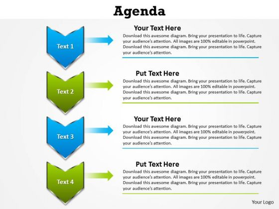 Consulting Diagram Agenda PowerPoint Slides And PowerPoint Templates Sales Diagram