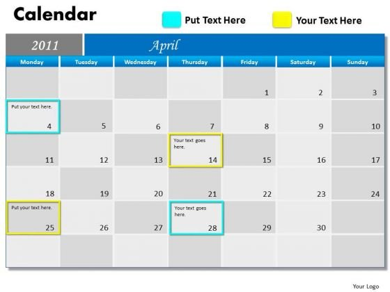 Consulting Diagram Blue Calendar 2011 Mba Models And Frameworks