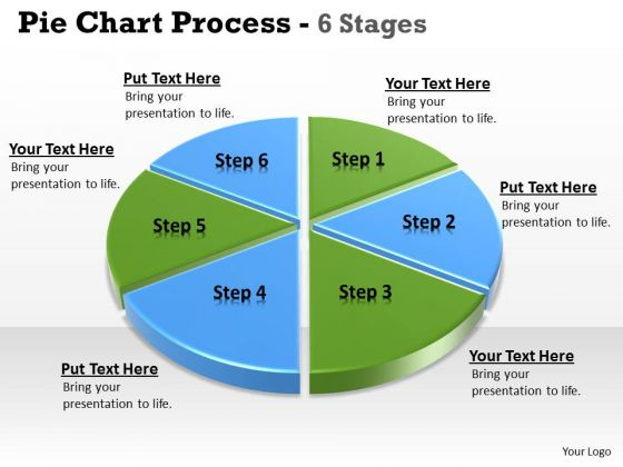 Consulting Diagram Business Statistical Pie Diagram 6 Stages Mba Models And Frameworks