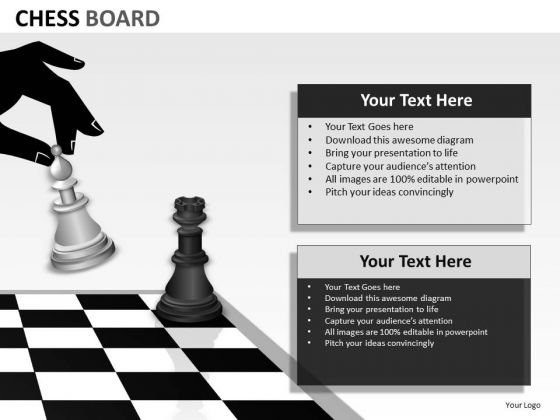 Consulting Diagram Chess Board Strategy Diagram