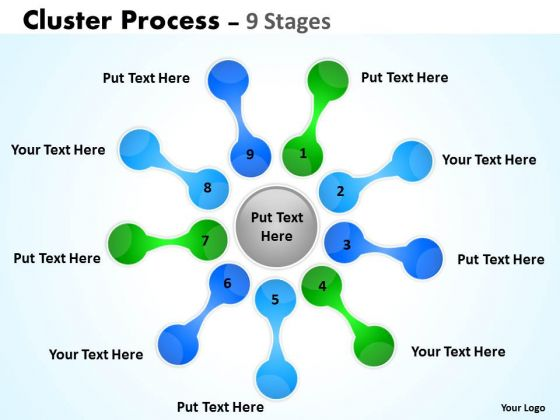 Consulting Diagram Cluster Process Stages Diagrams Strategic Management