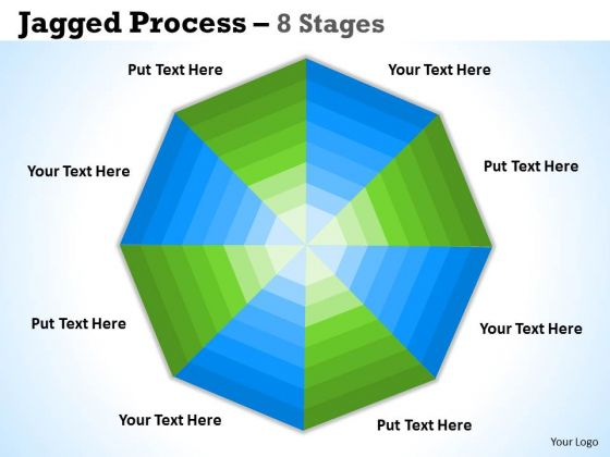 Consulting Diagram Concentric Process 8 Stages Diagrams Strategic Management