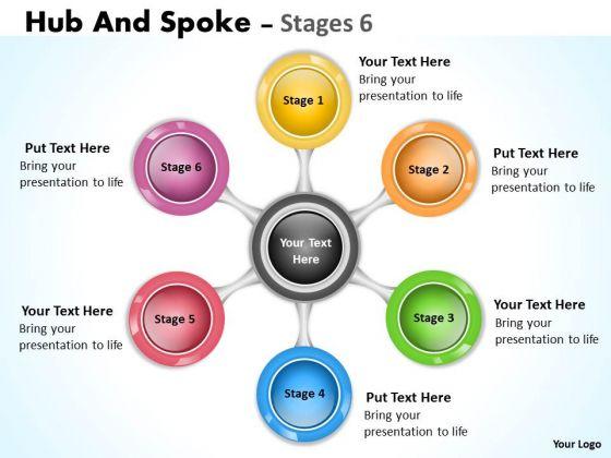 Consulting Diagram Diverging Flow Chart Business 6 Sales Diagram