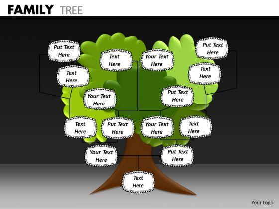 Consulting Diagram Family Tree Business Framework Model