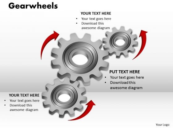 Consulting Diagram Gearwheels Business Cycle Diagram