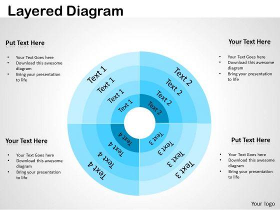 Consulting Diagram Layered Diagram Strategy Diagram