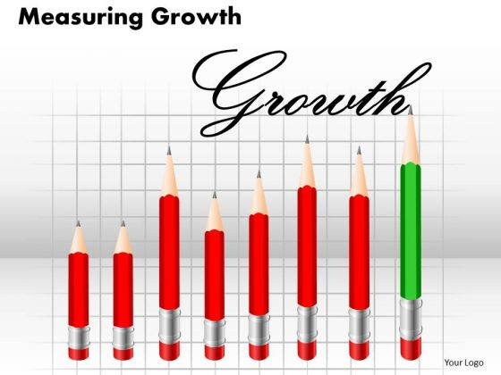 Consulting Diagram Measuring Growth 1 Business Cycle Diagram