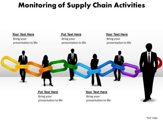 Consulting Diagram Monitoring Of Supply Chain Activities Business Framework Model