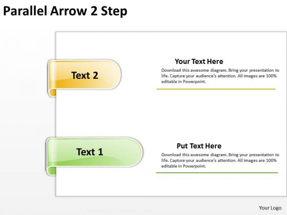 Consulting Diagram Parallel Arrow 2 Step Mba Models And Frameworks