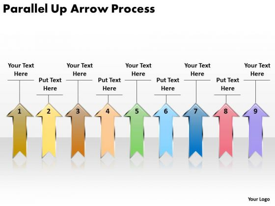 Consulting Diagram Parallel Up Arrow Process Mba Models And Frameworks