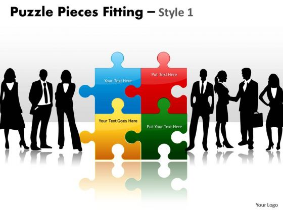 Consulting Diagram Puzzle Pieces Fitting Style 1 Strategic Management
