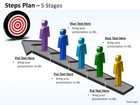 Consulting Diagram Steps Plan 5 Business Finance Strategy Development