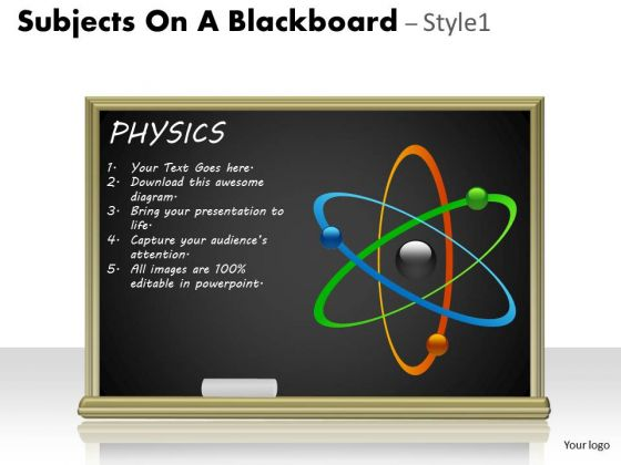 Consulting Diagram Subjects On A Blackboard Strategic Management