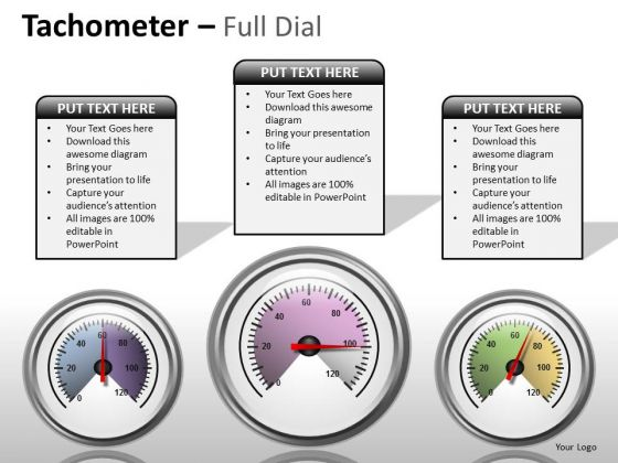 Consulting Diagram Tachometer Full Dial Marketing Diagram