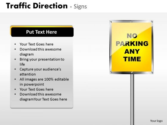 Consulting Diagram Traffic Direction Signs Business Diagram