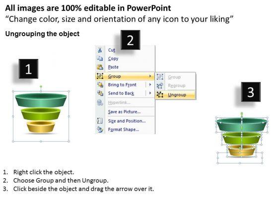 marketing_diagram_3_staged_independent_funnel_process_business_framework_model_2