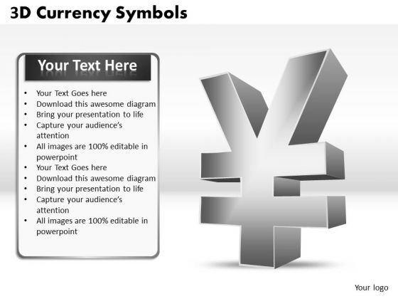 Marketing Diagram 3d Currency Symbols Strategic Management