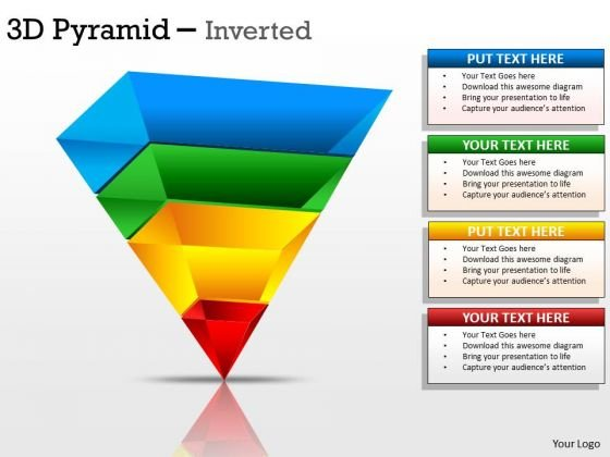 Marketing Diagram 3d Pyramid Inverted Design Mba Models And Frameworks