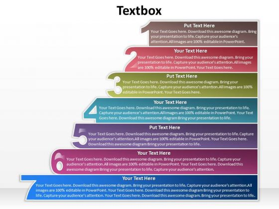 Marketing Diagram 7 Textbox For Sales Process Strategy Diagram