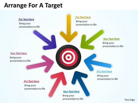 Marketing Diagram Arrange For A Target Consulting Diagram