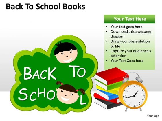 Marketing Diagram Back To School Books Consulting Diagram