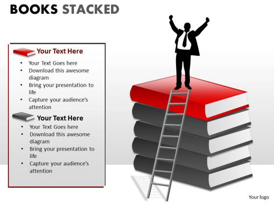 Marketing Diagram Books Stacked Business Framework Model