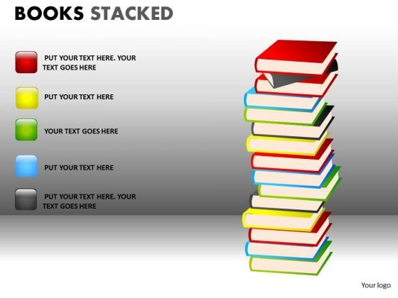 Marketing Diagram Books Stacked Strategic Management