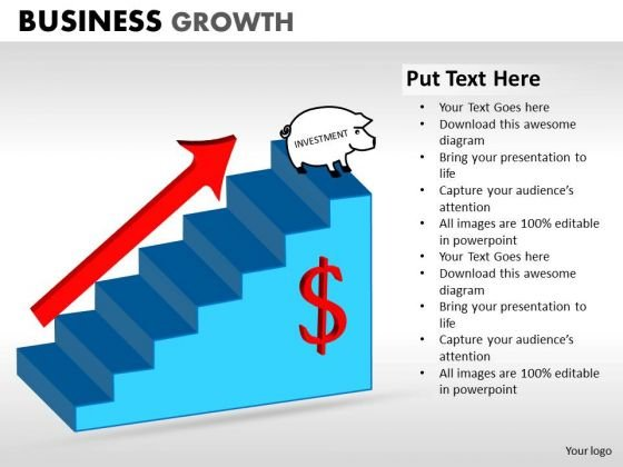Marketing Diagram Business Growth Consulting Diagram