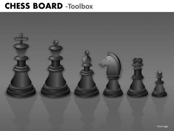 Marketing Diagram Chess Board Business Diagram
