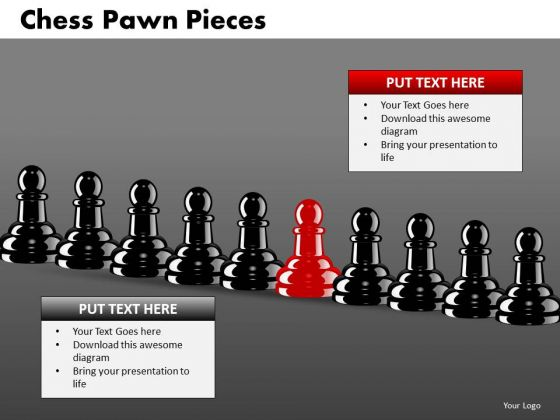 Marketing Diagram Chess Pawn Pieces Consulting Diagram