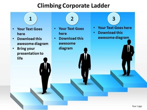 Marketing Diagram Climb The Corporate Ladder Consulting Diagram