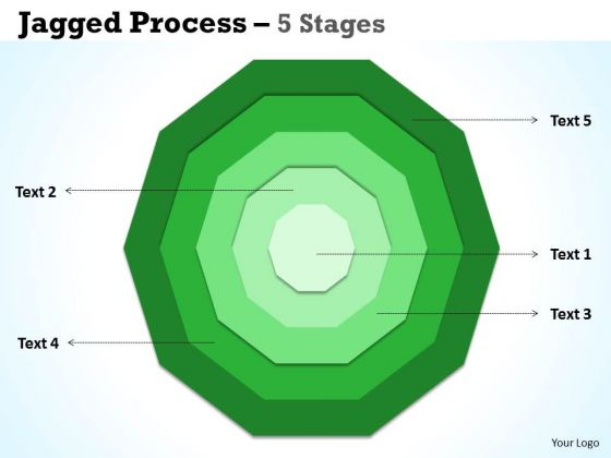 Marketing Diagram Concentric Proces Diagrams 5 Stages Business Framework Model