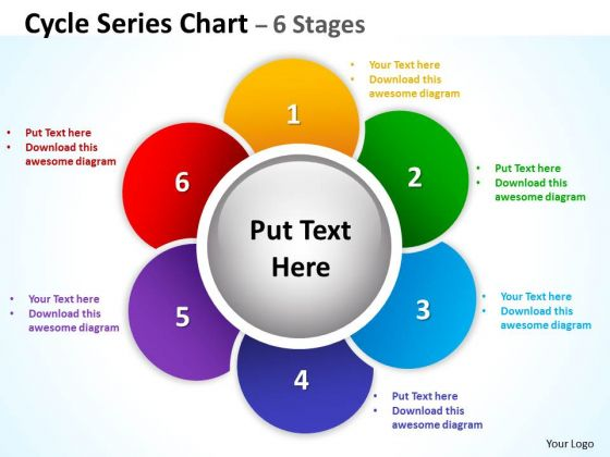 Marketing Diagram Cycle Series Diagrams Chart Stages Strategy Diagram