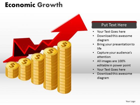 Marketing Diagram Economic Growth Sales Diagram