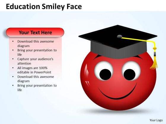 Marketing Diagram Education Smiley Face Business Diagram
