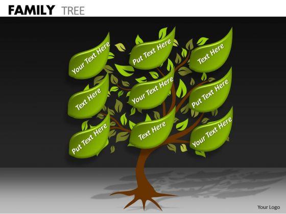 Marketing Diagram Family Tree Business Diagram