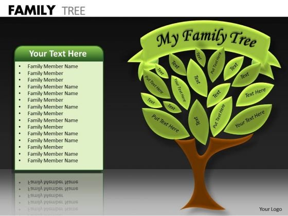 Marketing Diagram Family Tree Strategy Diagram
