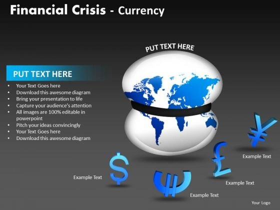 Marketing Diagram Financial Crisis Currency Consulting Diagram