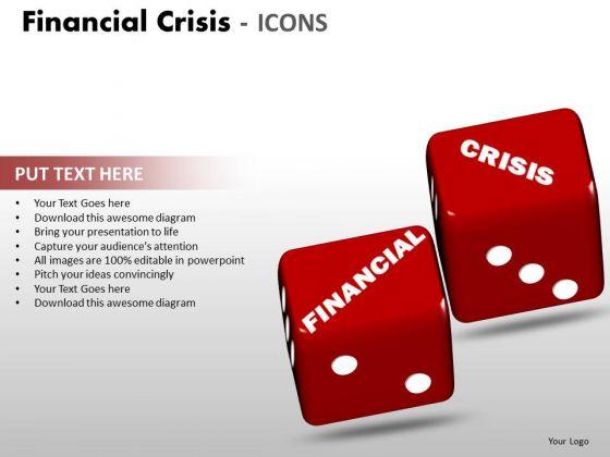Marketing Diagram Financial Crisis Icons Mba Models And Frameworks